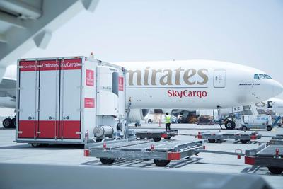 Emirates SkyCargo Ships 35,000 Tonnes of Cool Chain Products Through its New Hub in Dubai
