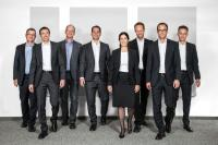 v.l.n.r.: Hans-Jürg Schneider, Heiko Faller, Teddy Graf, Roman Hugelshofer, Gabriela Keller, Adrian Berger, Lukas Ehrensperger, Dominik Moser