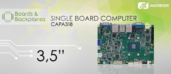 Embedded Motherboard CAPA318 von AXIOMTEK
