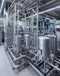 The Innopro Corvus cartridge filter system provides excellent prerequisites for hygienic filling of beverages.