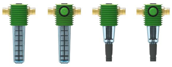 Lieferbar sind die neuen Grünbeck-Filter BOXER X in den Größen 1 ½″ und 2″ – mit und ohne Druckminderer – ab Juni 2021