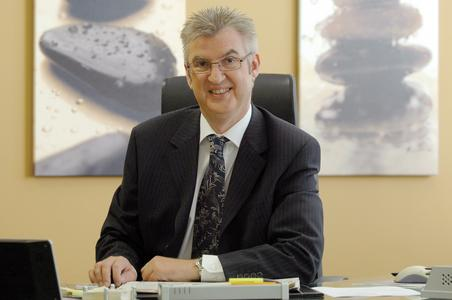 Bernd Quenzer, Managing Director der OKI Systems (Deutschland) GmbH