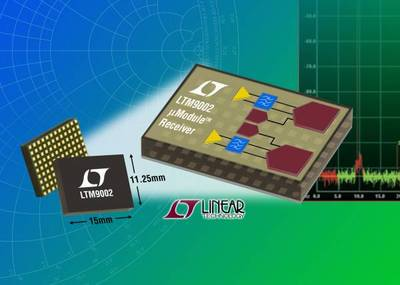 Dual-Channel uModule Receiver Subsystem Combines High-Speed ADCs & Drivers in Compact Package