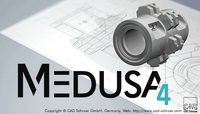 FREE 2D/3D CAD on Windows and Linux: MEDUSA4 Personal(TM)  Latest Release in Time for the Holidays