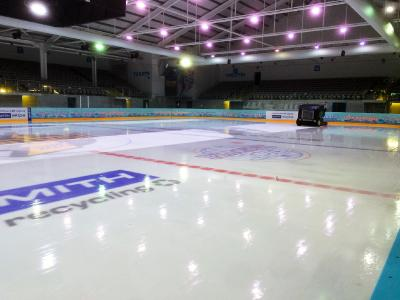 Image 2: The ice rink in Milton Keynes is cooled with BITZER CSV compressors