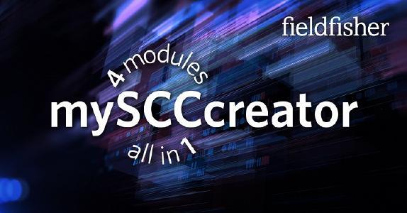 mySCCcreator by Fieldfisher
