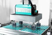: Mithilfe des Spannkonfigurators können P-Norm- und Sonderplatten passend für Ihr Nullpunktspannsystem einfach konfiguriert und bestellt werden / Bildquelle: Meusburger