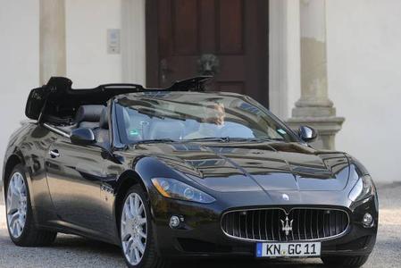 Maserati at it's best! 2011 Maserati Grancabrio, ©  Kuhnle
