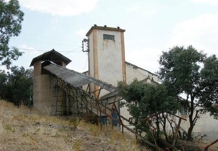 Historische Kupfermine Aparis in Portugal; Foto: Goldplay Mining