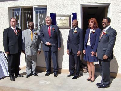 Eröffnung Fachzentrum für Logistikin Namibia