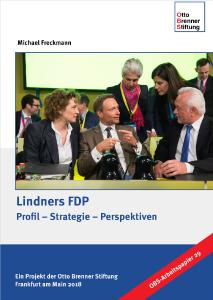 """Cover zur OBS-Studie """"Lindners FDP"""""""