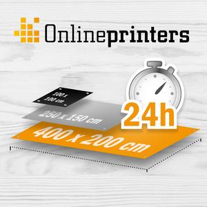 High-speed digital print for tarpaulins © Onlineprinters GmbH