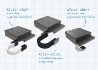 Der Kreuztisch KT230-EDLM von Steinmeyer Mechatronik ist jetzt mit drei wählbaren Kabelabgängen erhältlich und kann so noch einfacher beim Kunden integriert werden