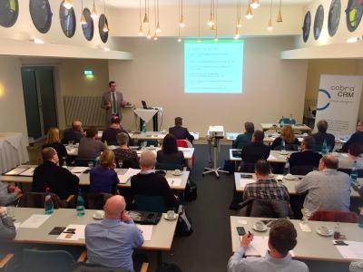 Jan Morgenstern fuehrt die Teilnehmer in die Inhalte der EU-DSGVO ein