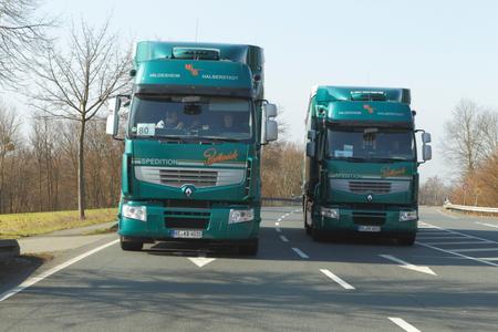 Die Spedition Bartkowiak GmbH erzielte mit den Optifuel Lösungen von Renault Trucks über einen Zeitraum von drei Jahren eine durchschnittliche Verbrauchssenkung von über 10 %