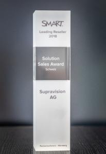 Supravision SMART Solution Sales Award