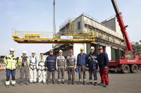 Erfolgreiche Zusammenarbeit im Chemiepark Marl, Scheffer Krantechnik GmbH Sassenberg und STAHL CraneSystems.