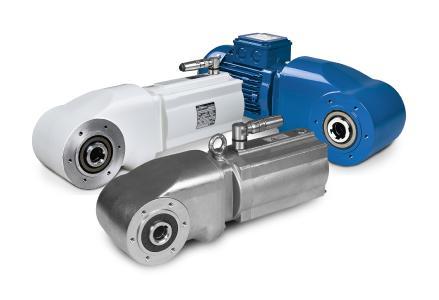 Die Firma Bauer Gear Motors zeigt ihre Reihe von  HiflexDRIVE-Getriebemotoren in aseptischer und Edelstahl-Ausführung und stellt dieses Jahr während der gesamten Messe ihre IP67- und IP69K-Lösungen in einem Wasserstrahltank aus.