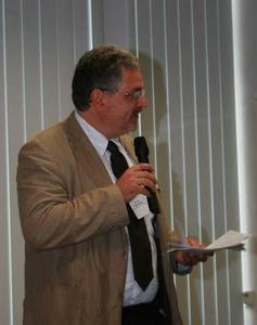 Prof. Dr. Thomas Speck, Plant Biomechanics Group Freiburg und Sprecher des Kompetenznetzes Biomimetik Baden-Württemberg als Mitveranstalter der Tagung