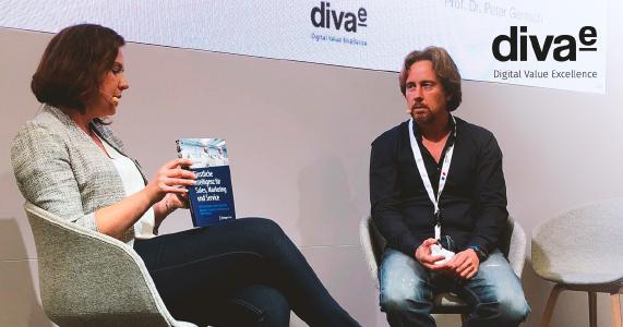 DMEXCO 2018: Thementalk mit Prof. Dr. Peter Gentsch und diva-e