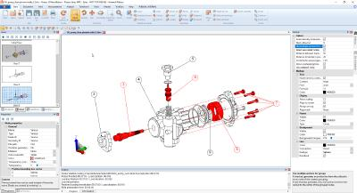 Authoring CAD data for technical documentation and spare part solutions