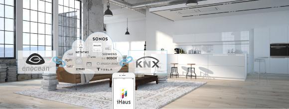 iHaus - Die All-In-One Smart Home App verbindet IoT, KNX, EnOcean & Alexa