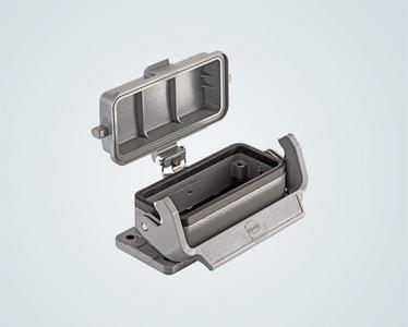 Han® Snap Cap Mechanismus schützt gegen Spritzwasser und Staub.