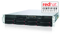 Latest transtec Hardware Now with Red Hat Certification
