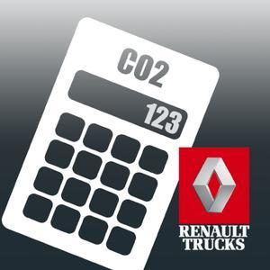 Der EcoCalculator ist eine kostenlose App von Renault Trucks zur Errechnung der Kohlendioxid- (CO2) und Stickoxid- (NOx) Emissionen