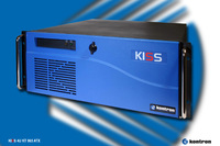Kontron KISS 4U server with 775 embedded socket and desktop processors up to Intel® Core 2 Quad