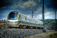 ContiTech equipped the World Cup Gautrain with air spring systems / Photo: Bombardier