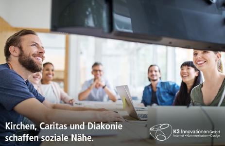 Die Wirtschaftsgesellschaft der Kirchen in Deutschland (WGKD) digitalisiert seine 3 Mio. Mitglieder mit Videokonferenzen und Online-Seminaren