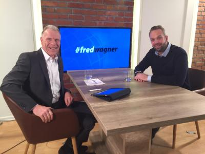 Robin von Hein im Interview mit Fred Wagner