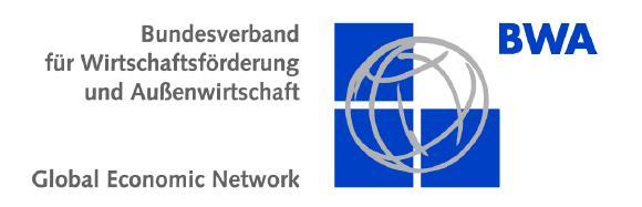 Bundesverband für Wirtschaftsförderung und Außenwirtschaft Global Economic Network e.V. (BWA)