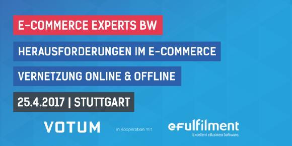 Wie kann man Online- und Offline-Handel schlau vernetzen? Fachgespräch mit Experten von eFulfilment beim eCommerce-Austausch von Votum