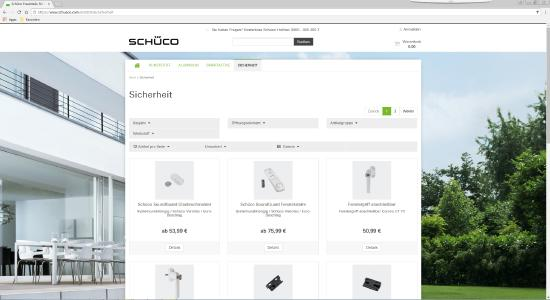 Der Schüco Ersatzteilshop bietet Original-Nachrüst- und Zubehörteile  für Schüco Fenster und Terrassen- bzw. Balkontüren zum Online-Kauf an