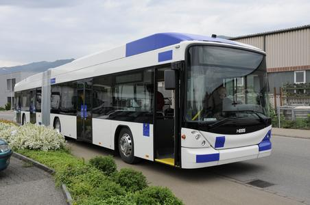 Optimized Technology: Lausanne orders additional 27 trolley buses from Vossloh Kiepe and Hess