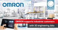 OMRON provides 3D engineering data in CADENAS solutions for OEM and industrial customers