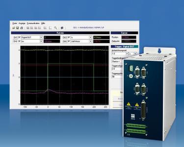 Der in den Frequenzumrichtern und Servoverstärkern der Serie SD2x integrierte Lastindikator überwacht den Zustand von Werkzeugmaschinen
