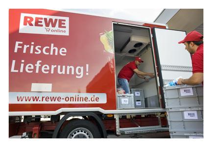 REWE startet Lieferservice in Köln