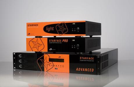 Komforttelefonie für kleine und mittelständische Unternehmen: Auf der CeBIT 2009 präsentiert die vertico software GmbH vier neue STARFACE APPLIANCES.
