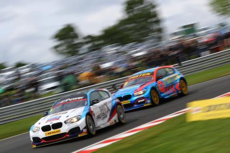 Rob Collard, Andrew Jordan, BMW 125i M Sport, BTCC © BTCC