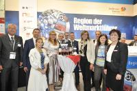 Expo Real 2017 – Messeteam der Region Heilbronn-Franken mit Staatssekretärin Katrin Schütz, Ministerium für Wirtschaft, Arbeit und Wohnungsbau Baden-Württemberg / Foto: BW-I