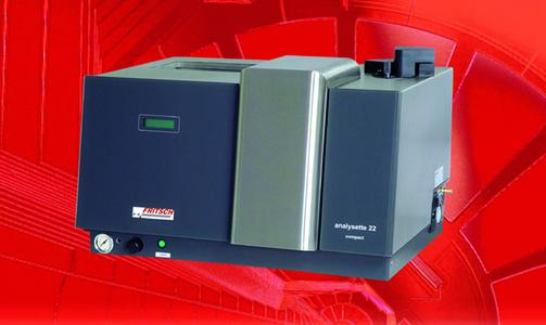 Laser Particle Sizer ANALYSETTE 22 COMPACT