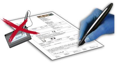 Signaturpads sind für den Einsatz im Zulieferwerk nur bedingt geeignet. Verschleiß durch Staub und unsachgemäße Handhabung verursachen Kosten und Verzörgerugen im Betriebsablauf.