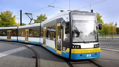 Modernization by Kiepe Electric: Low-floor trams on mass-transit duty in Schwerin ready for at least another 20 years