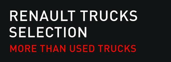 Renault Trucks führt in Deutschland das Gütesiegel Renault Trucks Selection für alle gebrauchten Fahrzeuge der Fernverkehrsbaureihe T ein