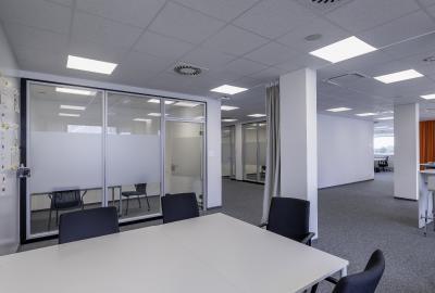 Mehrwertzonen in den Großraumbüros