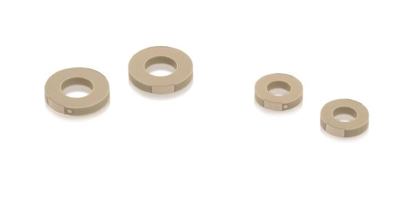 Multilayer ring actuators with 16 mm and 8 mm outer diameter