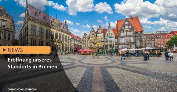 Eröffnung neuer Standort in Bremen